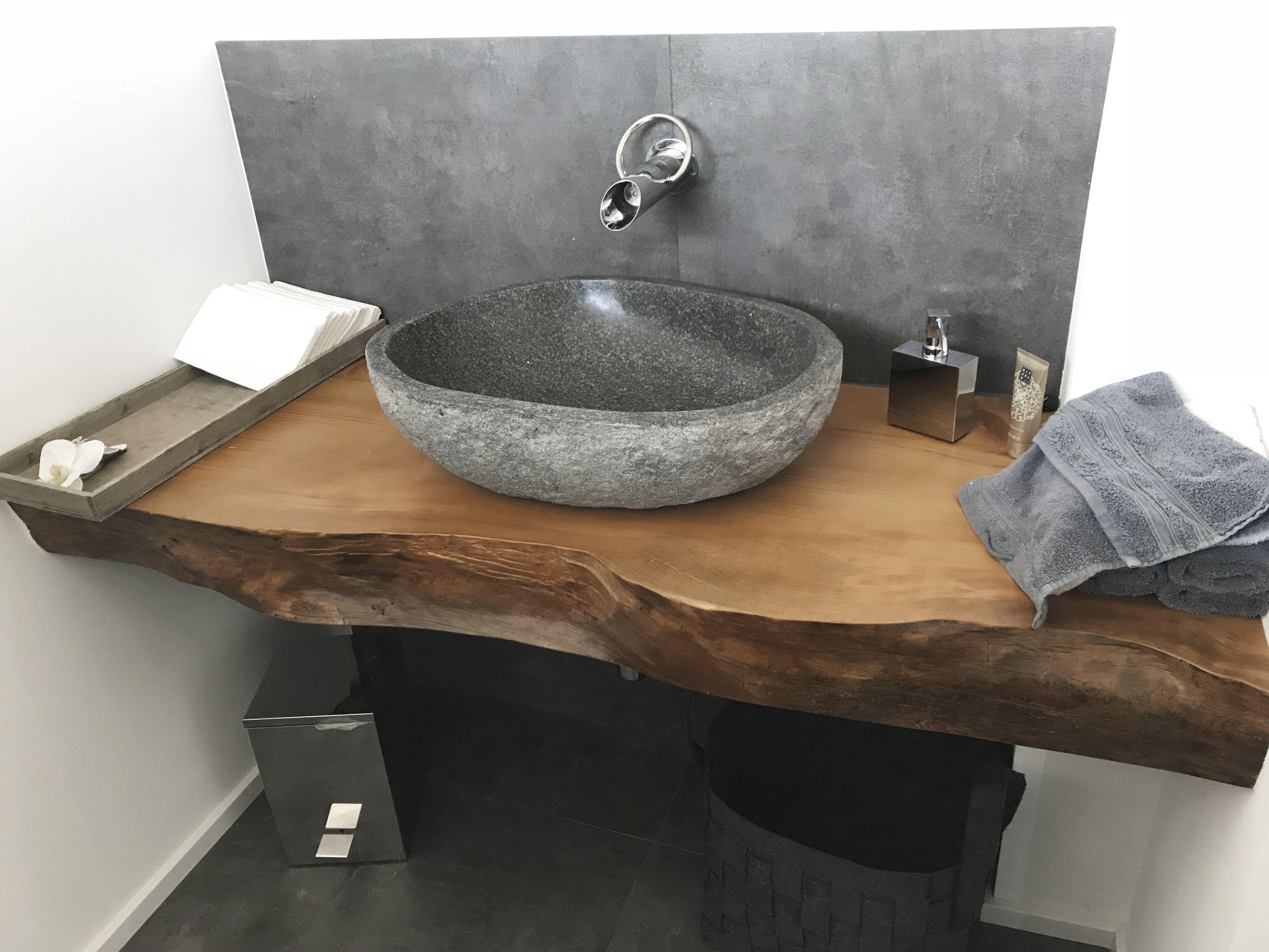 Baumscheiben Waschbecken Steinbecken Waschbecken Massanfertigung Badezimmer Rustikal Waschbecken Badezimmer Klein