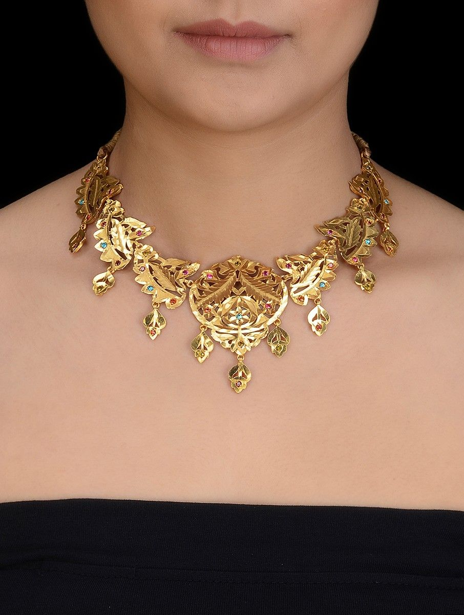 Buy Online With Images Gold Jewelry Fashion Gold Jewellery Design Necklaces Gold Necklace Designs