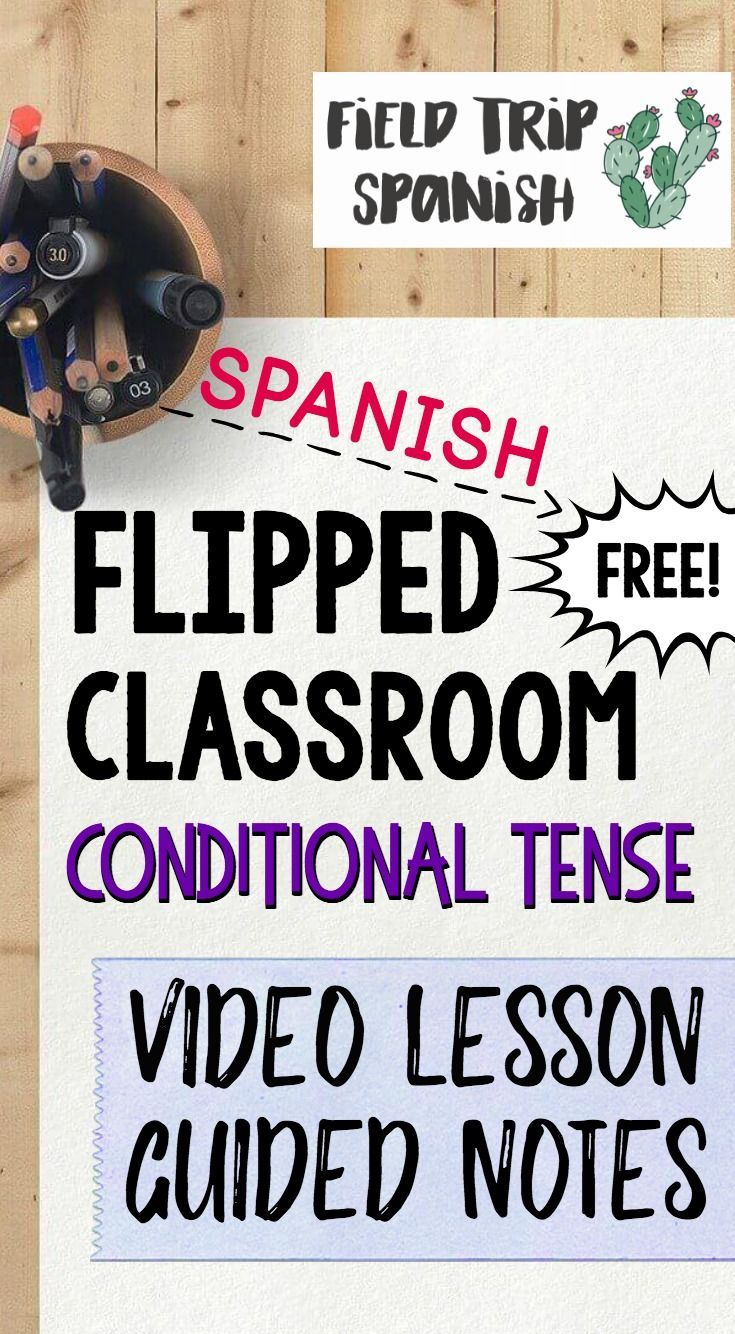 worksheet Conditional Tense Spanish Practice Worksheets free video lesson and guided notes of the conditional tense in spanish flipped classroom is