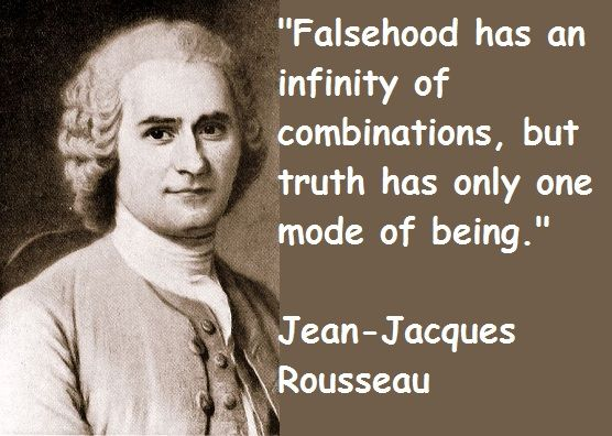 Jean Jacques Rousseau The Words Sentences Quotes Philosophy