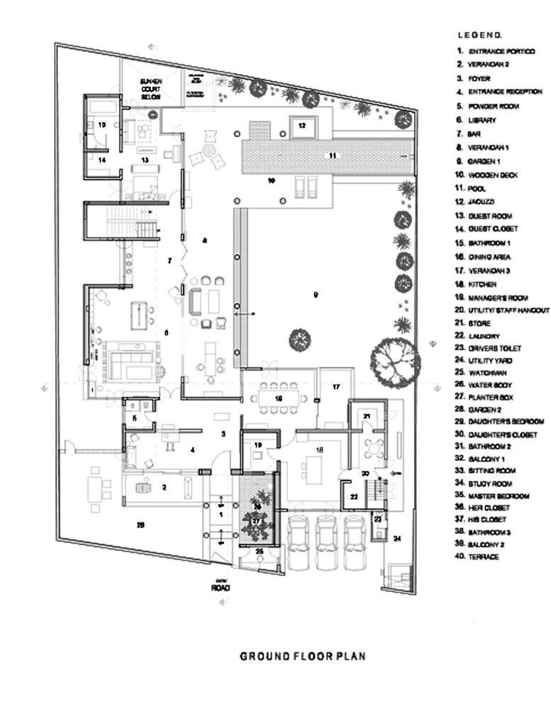 Galer A De La Casa Biblioteca Khosla Associates 21