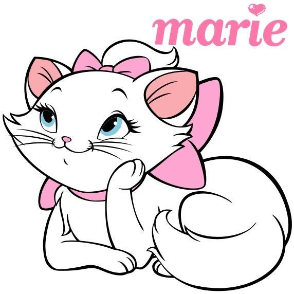 gatinha   Disney Mascot   Pinterest   Pinturas, Aniversarios y Bordado