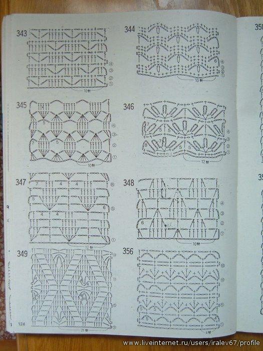 Catálogo de China de las pautas de ganchillo y de punto 600 ...