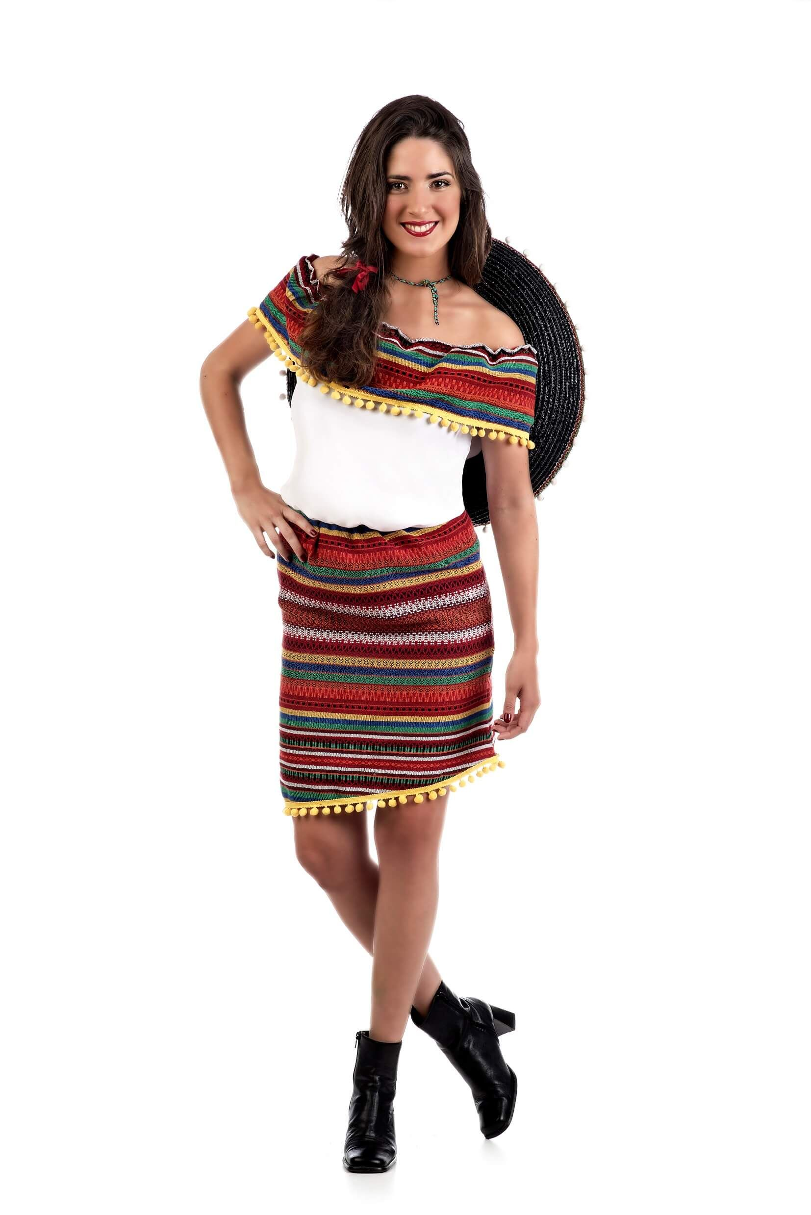 929c7a5459 Disfraz de mexicana para mujer