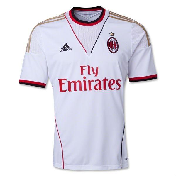 Cheap Vendita Ac Milan 2013 14 Maglia Da Trasferta Ac Milan Soccer Jersey Sports Shirts