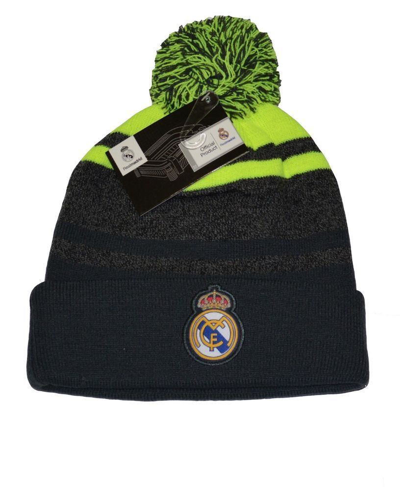 Authentic Official Licensed Soccer Beanie Real Madrid C.F