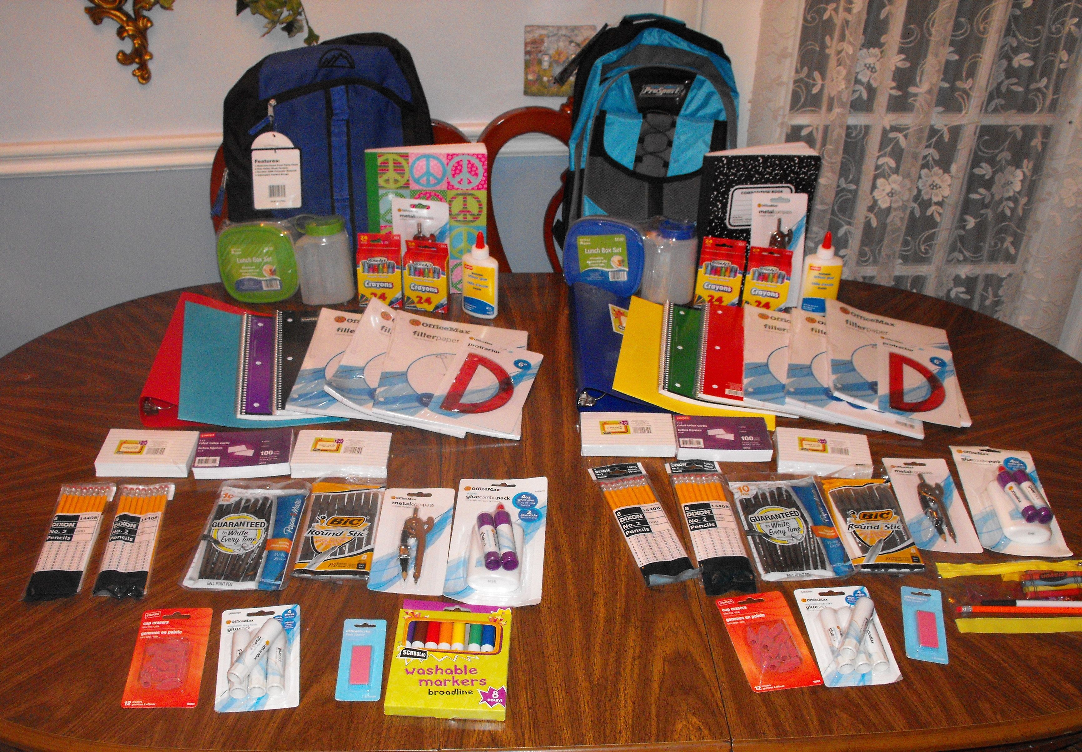 Back To School Loaded Backpack Giveaway