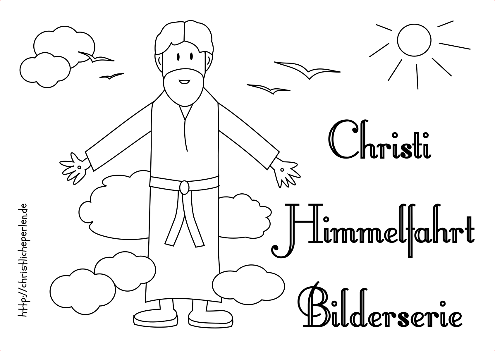 himmelfahrt  christliche perlen  religion  christi