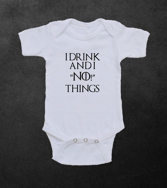"Game of Thrones Inspired Onesie  /""Crows before Bows/"" unisex Baby Infant Funny"