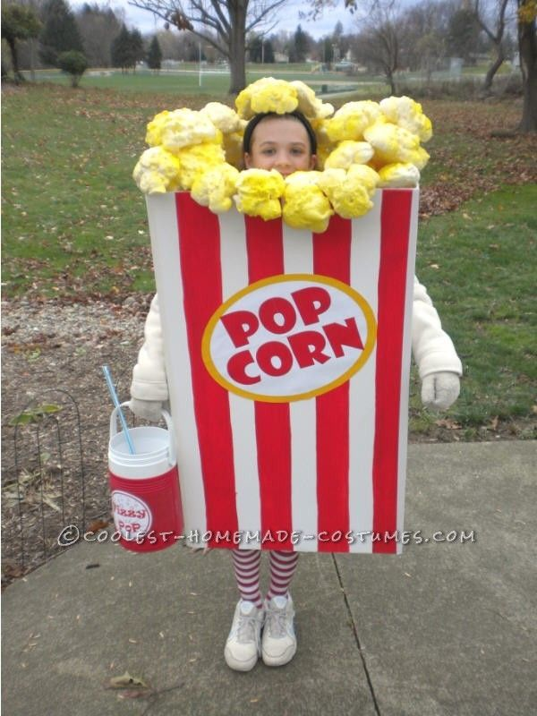 Popcorn fancy dress outfit