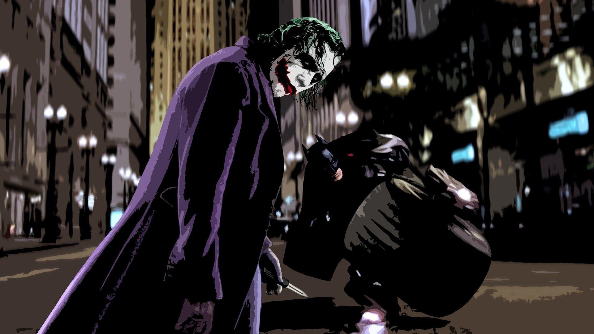 Batman And Joker Wallpaper For Desktop 9