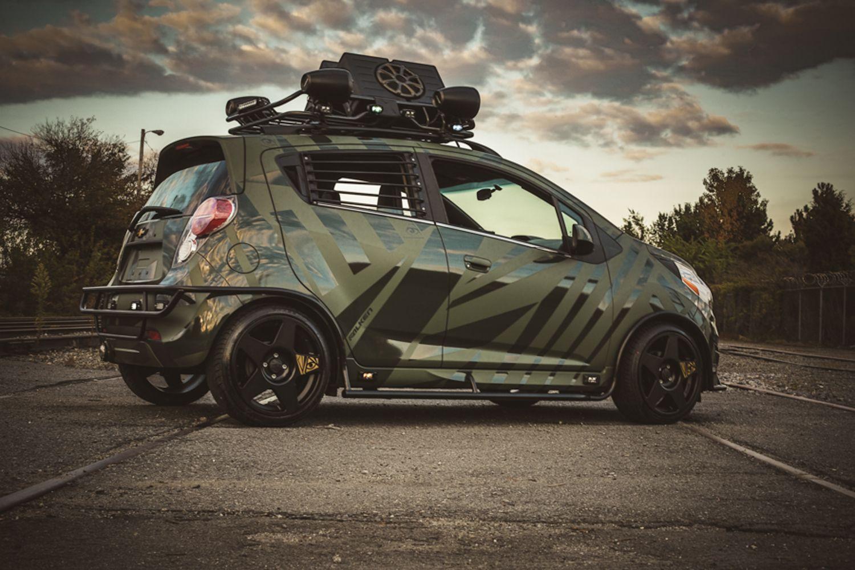 Enemy To Fashion Chevy Spark Enemytofashion Chevy Spark Photos By Basicwild Com Chevrolet Spark Coches Chulos