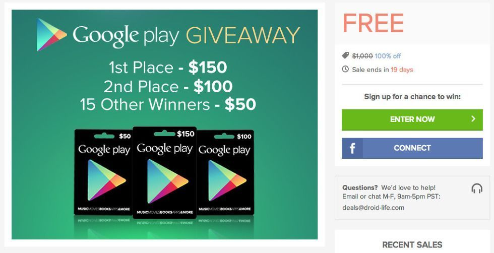 Photo of Gewinnen Sie eine Google Play-Geschenkkarte im Wert von 100 US-Dollar. Wir biete…