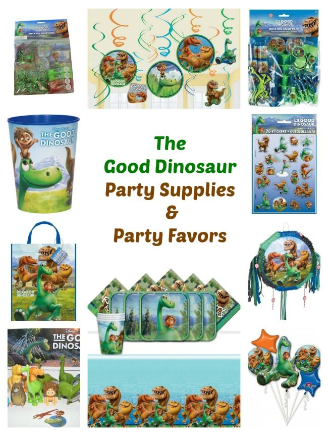 Looking The Good Dinosaur Party Supplies Favors And More Our List Includes Complete Kit