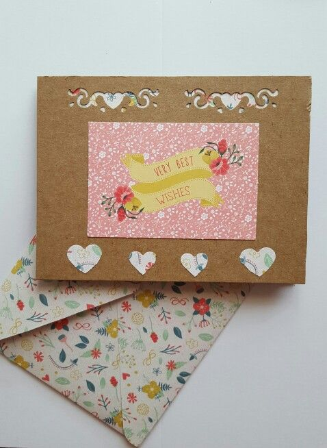 Small Birthday Card And Matching Envelope Card Ideas Pinterest