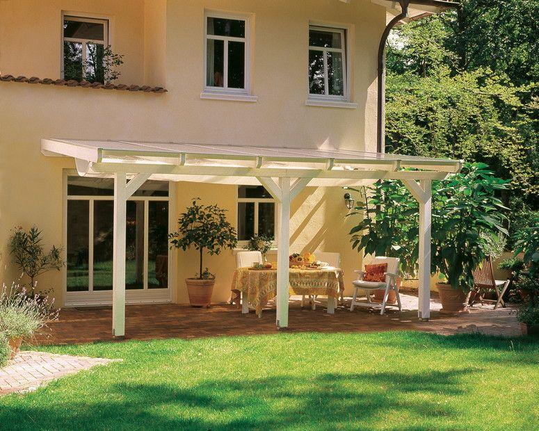 Terrassenüberdachung SKANHOLZ «Andria» Terrassendach | vom Garten-Fachhändler