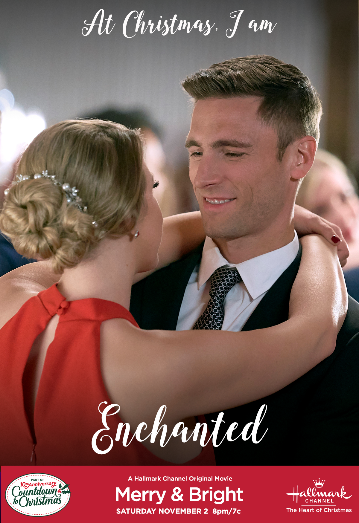 At Christmas, are you Enchanted as Gabe (Andrew Walker) is with Cate (Jodie Sweetin)? Then tune ...