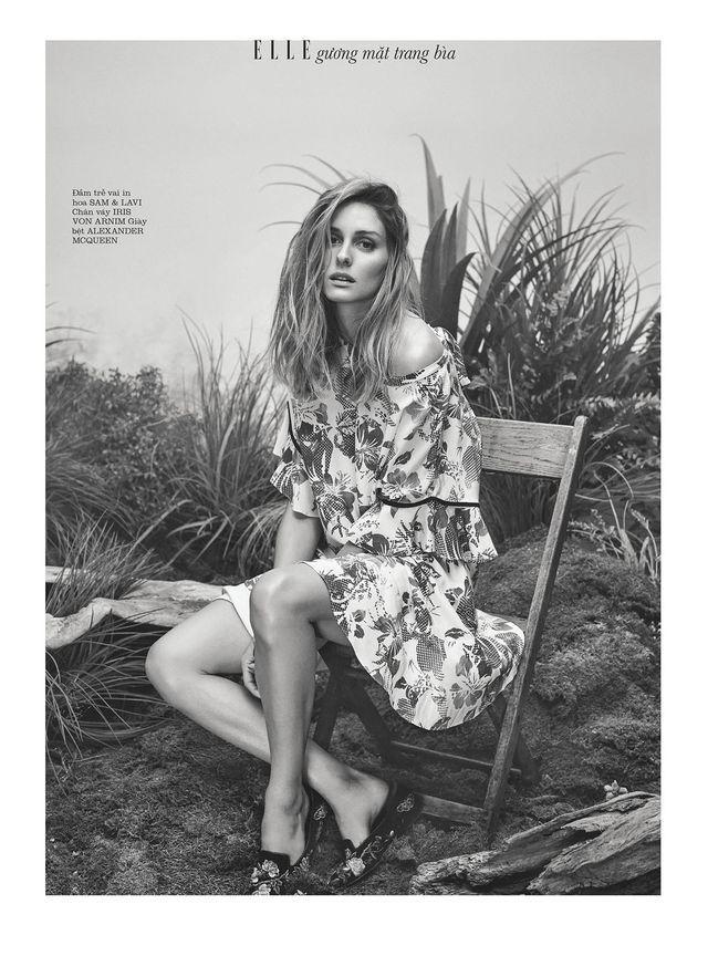 Olivia Palermo for Elle Vietnam