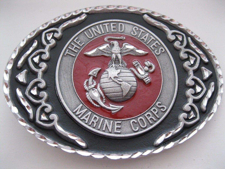 New CTM Semper Fi US Marine Corps Belt Buckle