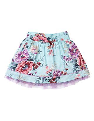 Baby Gwendolyn Skirt | Blue | Monsoon