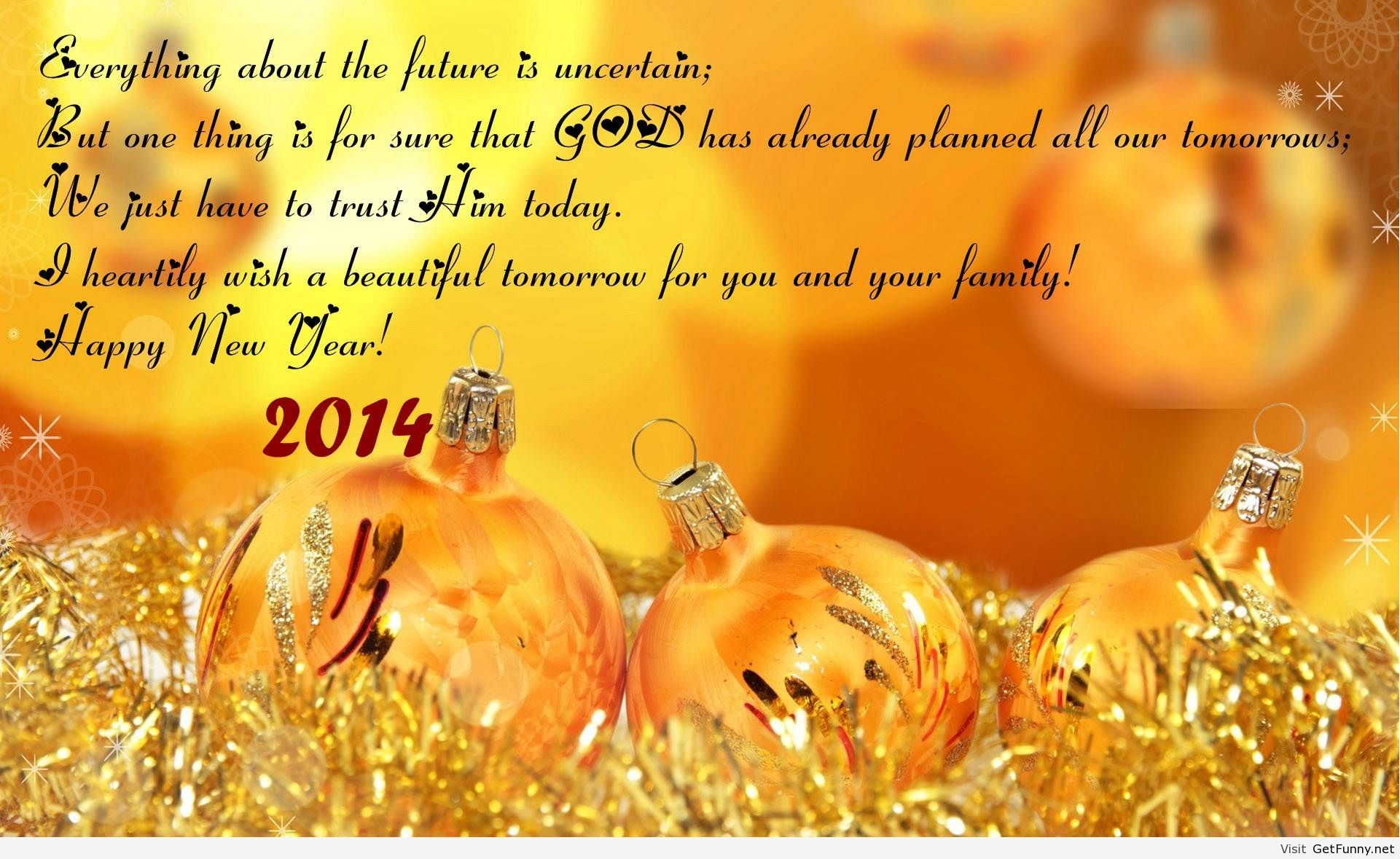 Top 100 most amazing happy new year wishes greetings quotes - Happy New Year 2014 Quotes