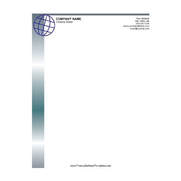 Letterhead Template 03 Stuff to Buy Pinterest Free - free business stationery templates for word