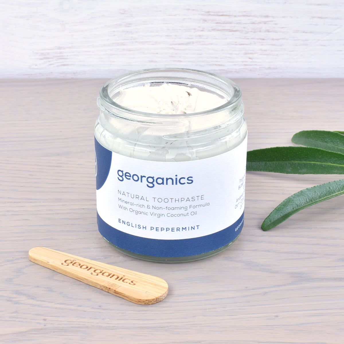 Natural Toothpaste English Peppermint in