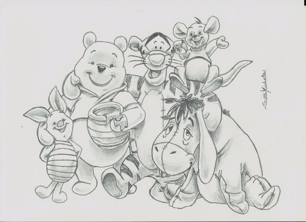 46 Trendy Drawing Disney Easy Step By Step Winnie The Pooh