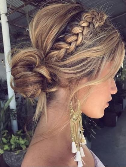 63+ ideas hair updos for weddings guest bun hairstyles