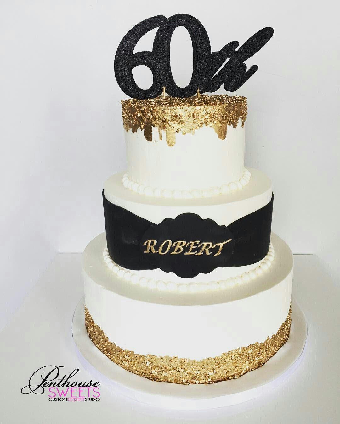 Amazing Pin By Kwesi Charles On Cakesss Golden Birthday Cakes 60Th Funny Birthday Cards Online Kookostrdamsfinfo