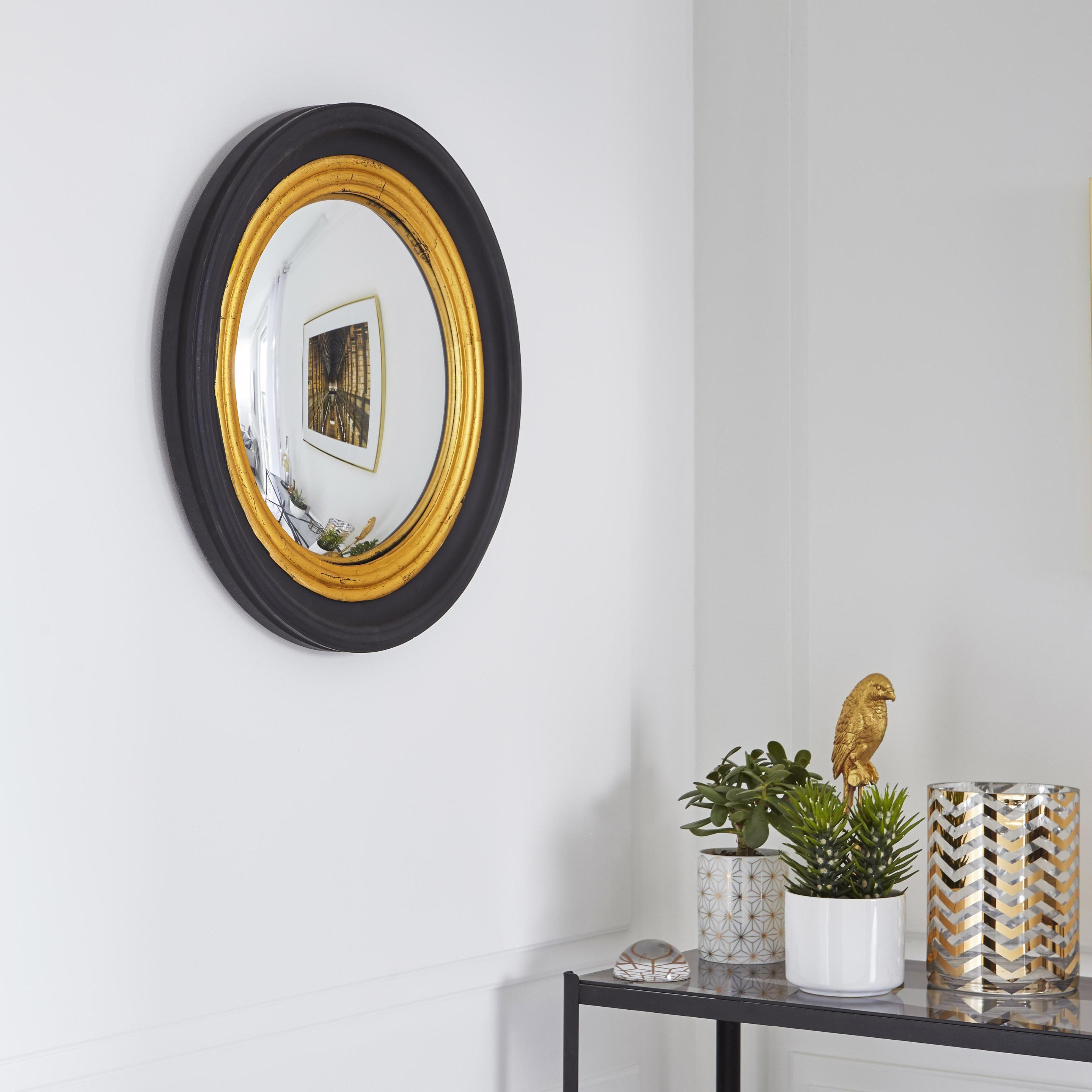 Miroir Rond Convex Noir Diam 37 Cm Au Meilleur Prix En Stock Livraison Rapide Dans Toute La France Decouvrez Les Avi En 2020 Miroir Miroir Rond Decoration Maison