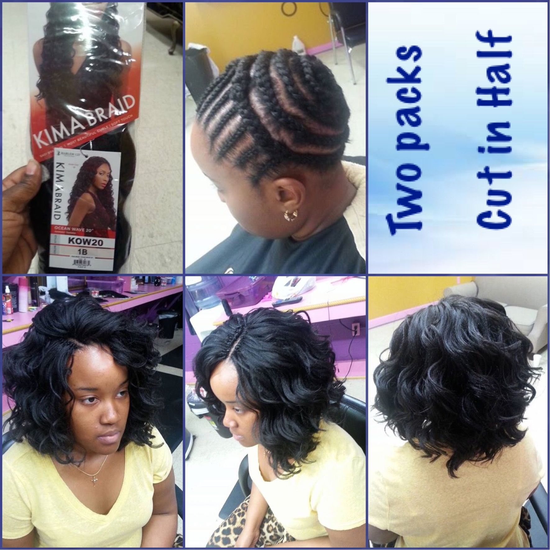 Kima braid hair crochets | Projects to Try | Pinterest | Extensiones ...