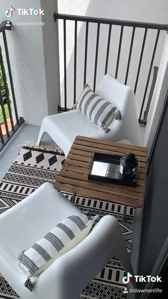 Affordable Apartment Balcony