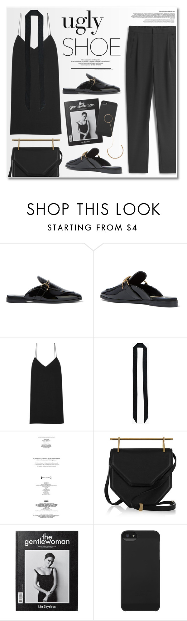 """""""Chic ugly shoes"""" by ruska-10 ❤ liked on Polyvore featuring STELLA McCARTNEY, The Row, Boohoo, StyleNanda, Pierre Hardy, Incase and modern"""