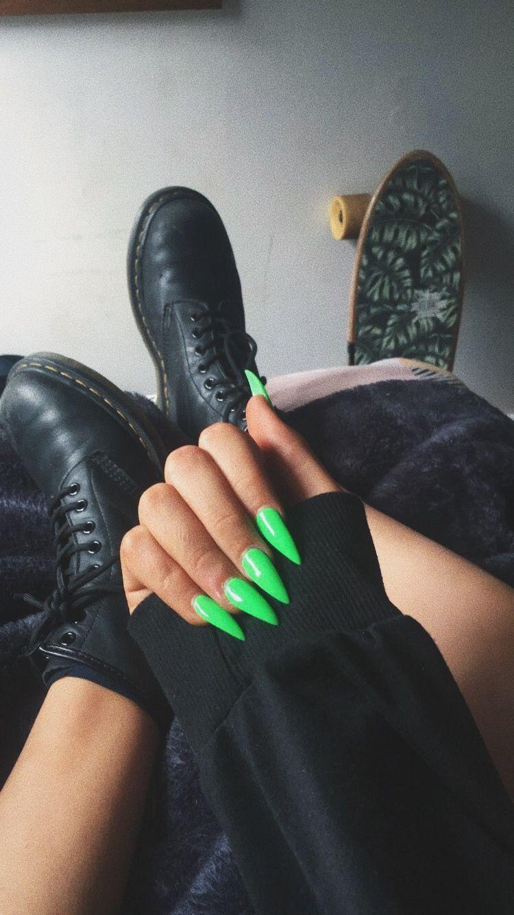 Photo of Hair  #green #stiletto #nails green stiletto nails, stiletto nails designs summe…