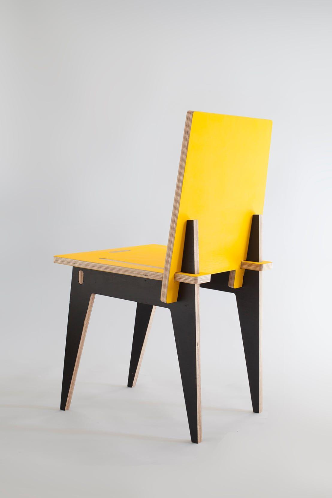 Krzesło klinowe profesjonalista robert pludra industrial design