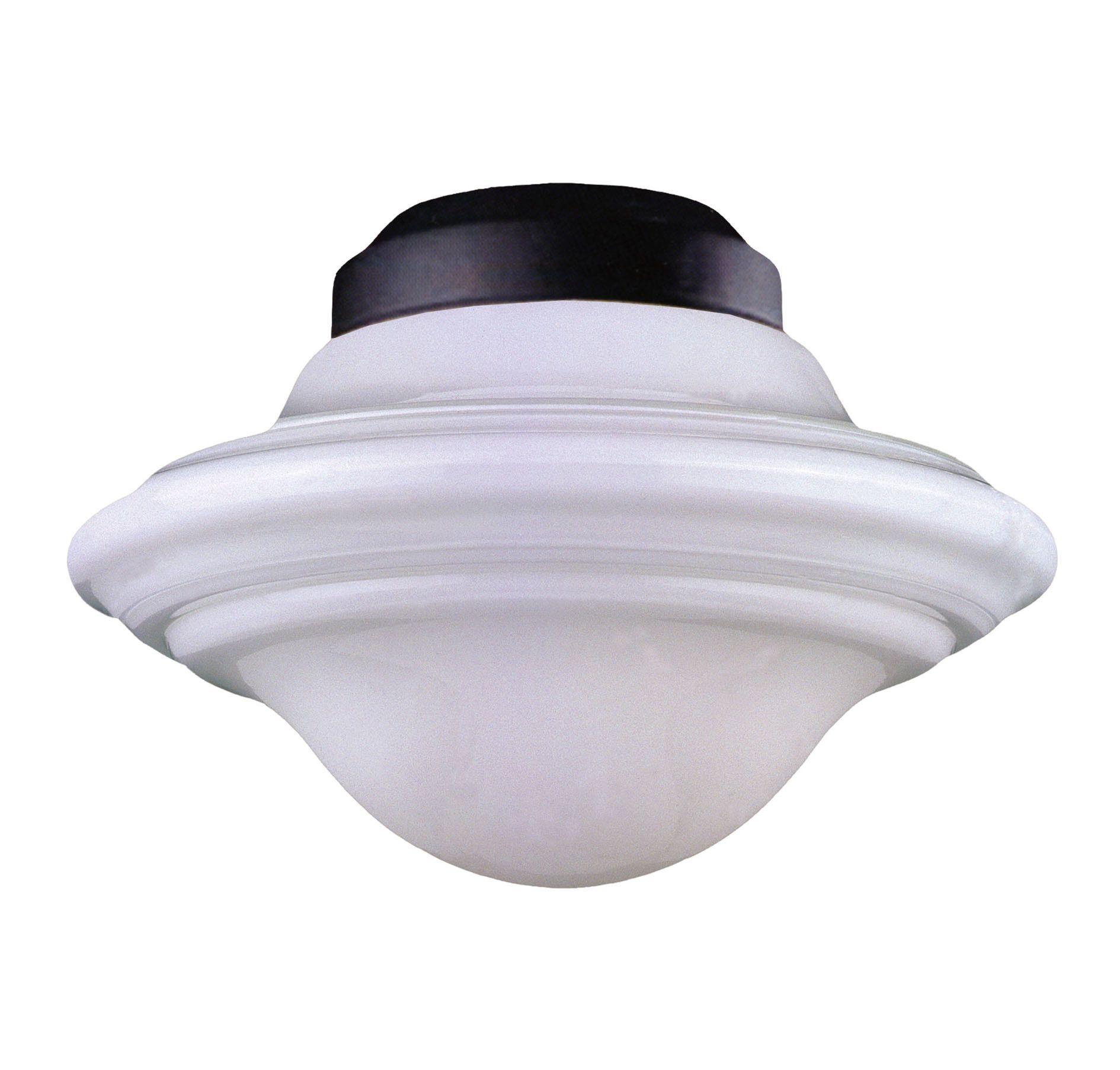 Pierce Paxton 1 Light Schoolhouse Ceiling Fan Light Kit