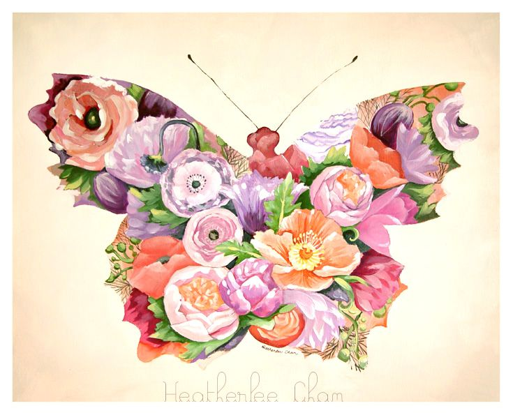 butterfly paintings on canvas - Google'da Ara
