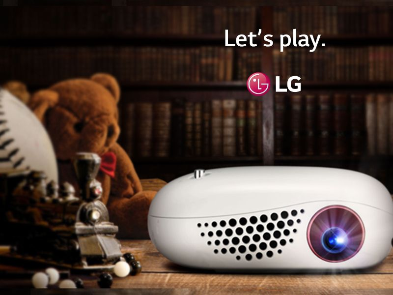 LG Minibeam Nano a tiny, affordable projector for your