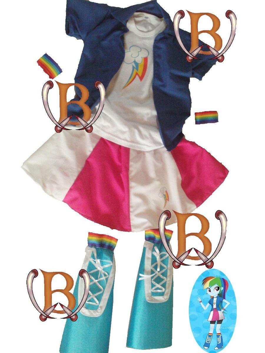 d015b3b6d disfraz equestria girls my little pony vestidos de la fiesta Disfraces Para  Niños