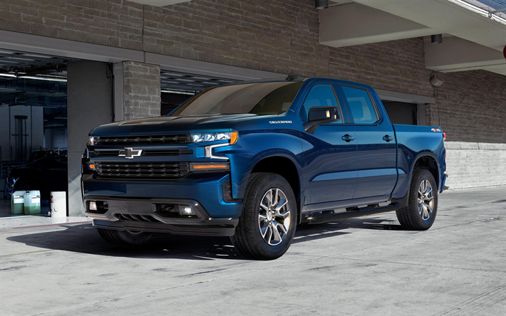 Download Wallpapers Chevrolet Silverado 2019 4k Pickup Truck New Blue Silverado Exterior Front View American Cars Chevrolet Besthqwallpapers Com Chevy Chevrolet Chevy Silverado Chevrolet Silverado 1500