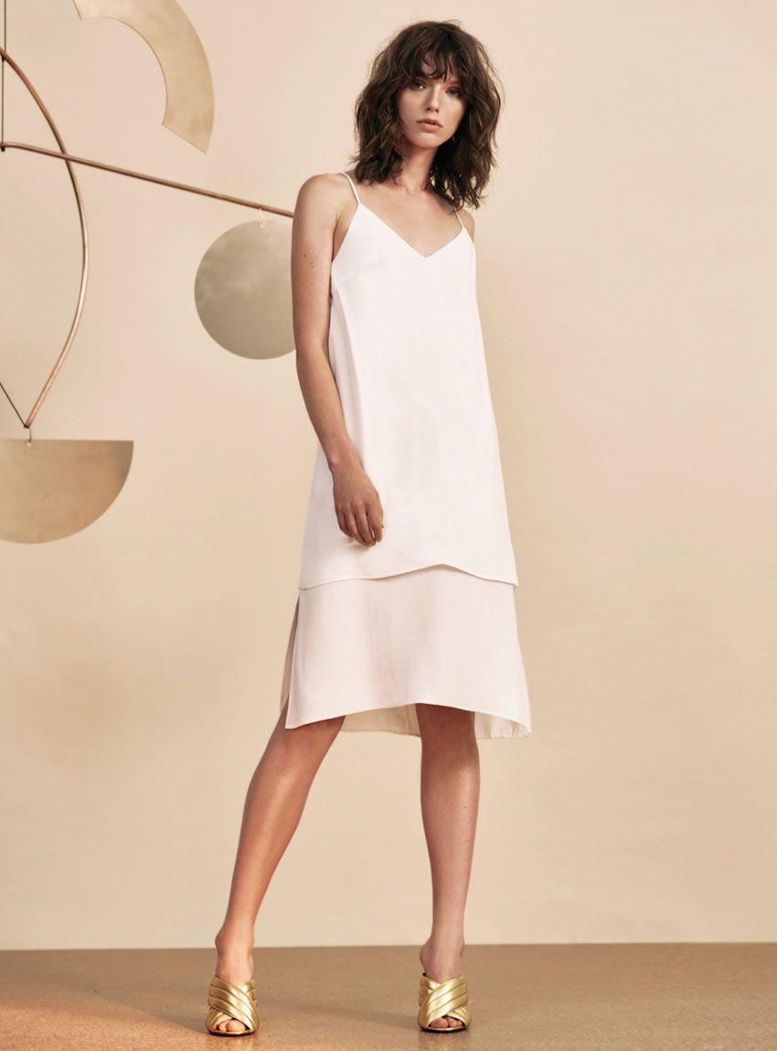 d7b0f8a2405d C MEO Collective Never Be S S Dress – Ivory