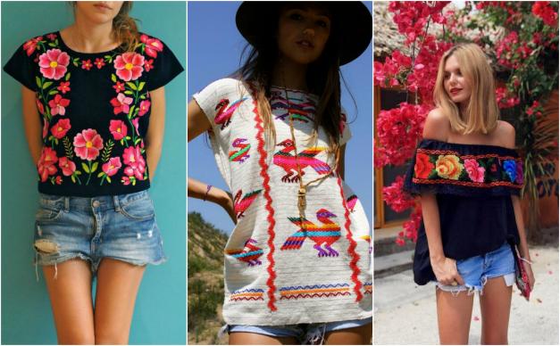 2e02c84814405 ropa con bordados mexicanos Ropa Bordada