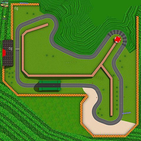 N64 Mario Raceway Track Outline From Mario Kart Wii Mario Kart Wii Mario Kart Mario
