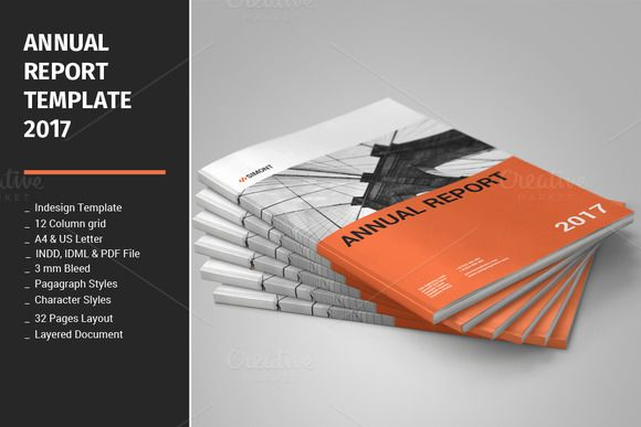 Annual Report Template 2017 @creativework247 Templates - Templates