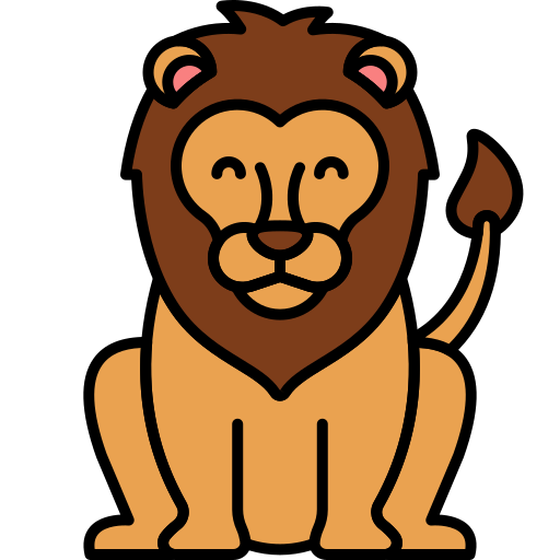 Lion Free Vector Icons Designed By Flat Icons Vector Icon Design Icon Design Lion Icon