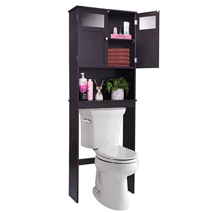 33++ Amazon bathroom storage over toilet type