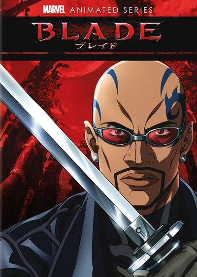 Blade Serie Animada Cover