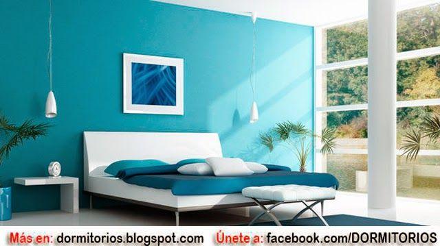 Dormitorios matrimoniales en color turquesa dormitorios - Disenos de cuartos ...
