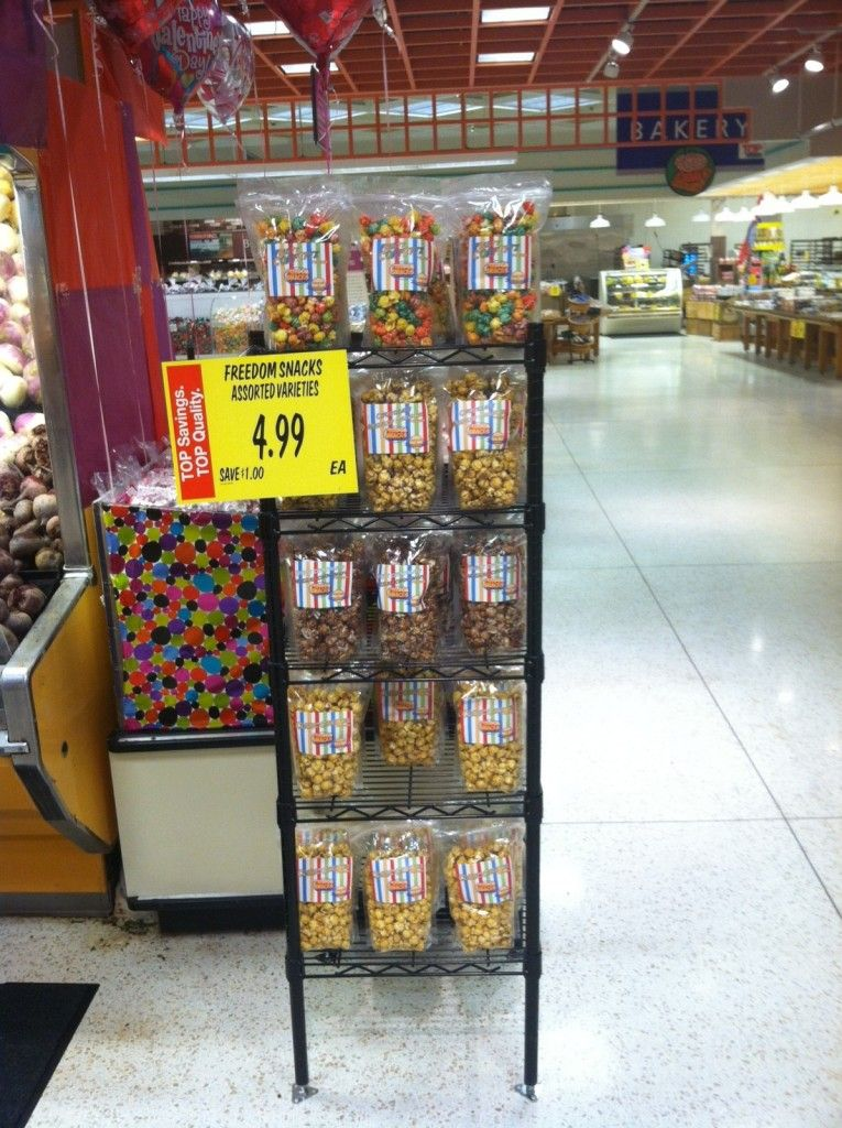 Our First Big Grocery Store! Freedom Snacks are now